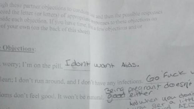 14-Year-Old Suspended Over Unexpected Answers On Sex Ed Quiz (Photos) Promo Image