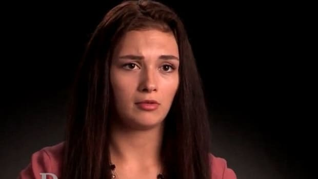 Teen Reveals She's Pregnant -- But Not Just With Any Baby (Video) Promo Image