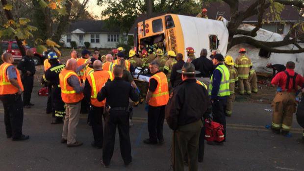 Witnesses: School Bus Speeding Before It Split In Half Promo Image