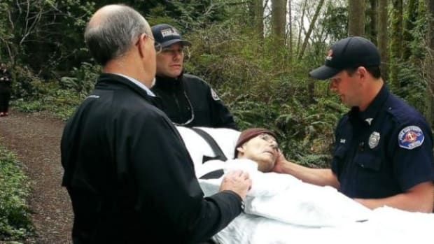 Hospice Workers, Firefighters Fulfill Dying Man's Wish Promo Image