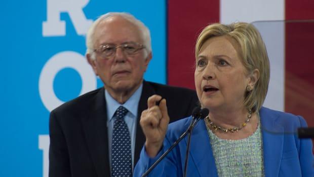 Sanders Vows To Push Clinton On Progressive Policies Promo Image