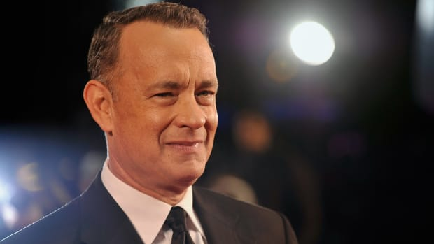 Tom Hanks Gifts Coffee Maker To White House Reporters (Photos) Promo Image