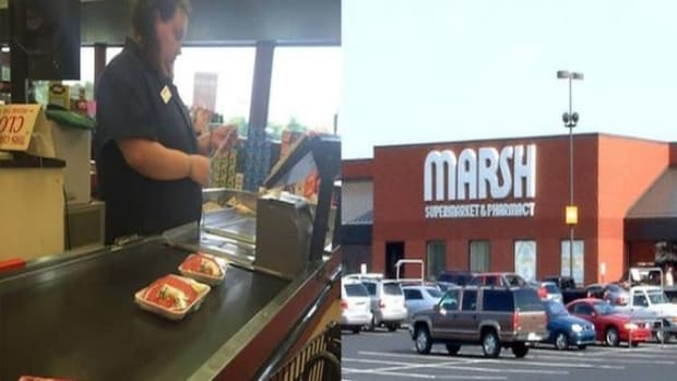 Customer Puts Down Meat At Checkout, Stunned When He Sees What Cashier Does Promo Image