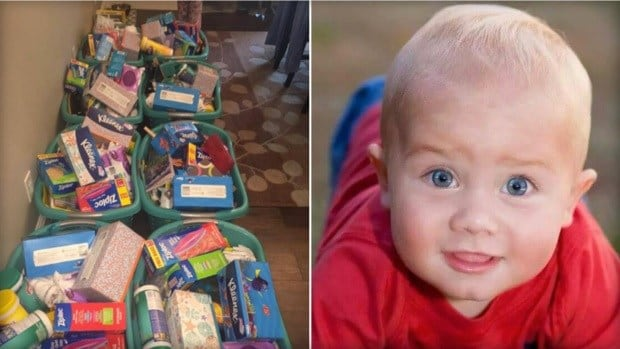 Mom Raises Money For School Supplies In Memory Of Son Promo Image