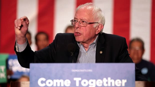 Sanders Holds Public Events To Oppose Healthcare Bill Promo Image