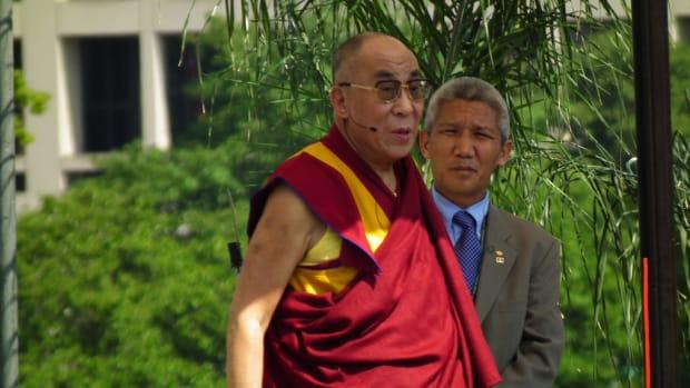 Dalai Lama Wrong About Refugees Promo Image