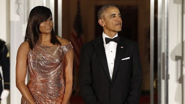 First Lady Criticized For State Dinner Dress (Photos) Promo Image