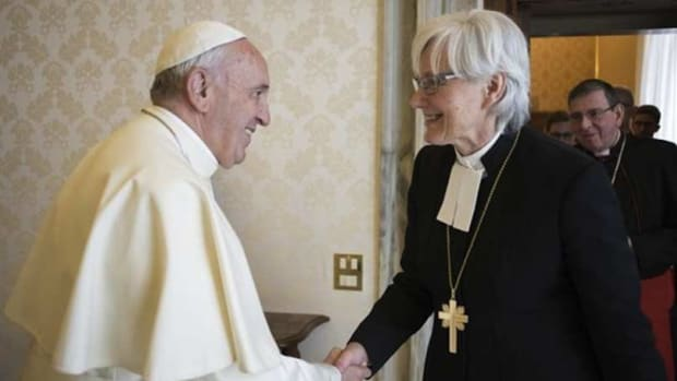 Pope: Women Will Never Be Priests  Promo Image