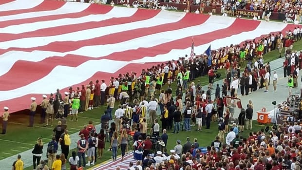 Redskins, Steelers On National Anthem Protests (Photos) Promo Image