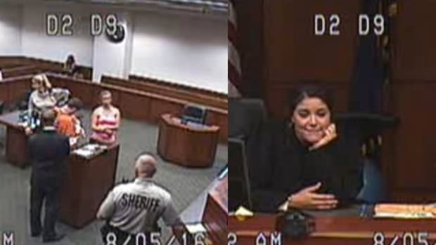 Judge Allows Inmate To Meet Baby For First Time (Video) Promo Image