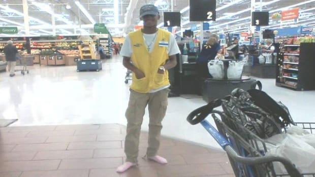 Wal-Mart Employee Does Something Amazing Promo Image