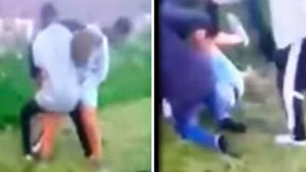Teen Brutally Attacked By Gang, Dad Takes His Revenge (Photos) Promo Image