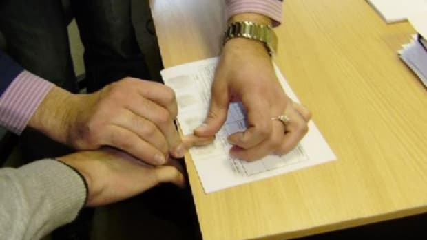 Christian Driver Refuses Fingerprinting Because Of Devil Promo Image