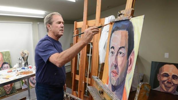 George W. Bush's Art Project Surprises Americans Promo Image