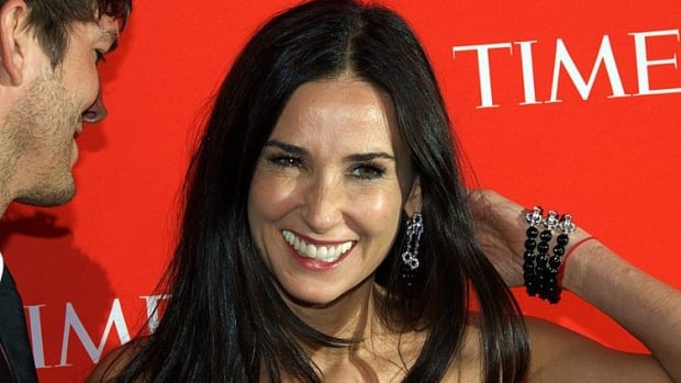 Demi Moore Reveals She Lost Two Teeth Due To Stress (Video) Promo Image