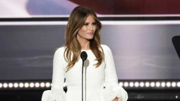 Michelle Obama's Dress Designer Refuses To Dress Melania Promo Image