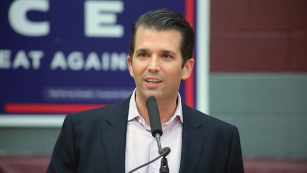 Donald Trump Jr. Causes Stir With Tweet On Comey Memo Promo Image