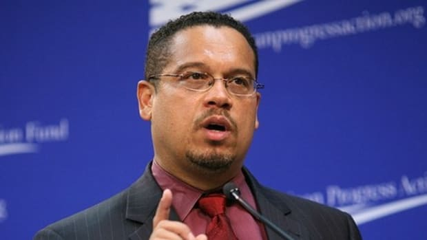 Report: Schumer Will Back Keith Ellison For DNC Chair Promo Image