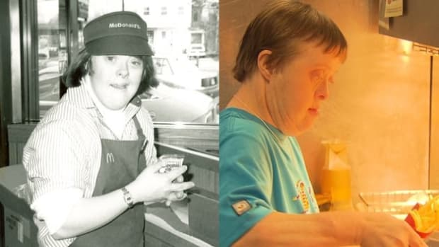 Woman With Down Syndrome Retiring From McDonald's Promo Image