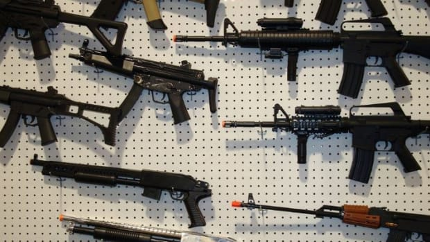 GOP Convention: Toy Guns Banned, Real Guns Not Promo Image