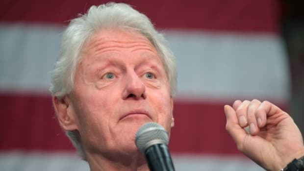 "Bill Clinton Blames FBI, ""Angry White Men"" For Loss Promo Image"