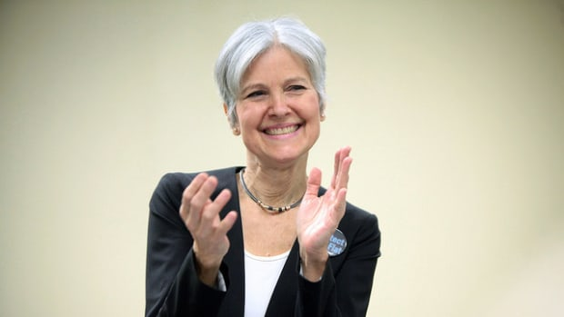 Jill Stein: Julian Assange Is A Hero Promo Image