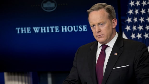 White House Bars Several Media Outlets From Briefing Promo Image