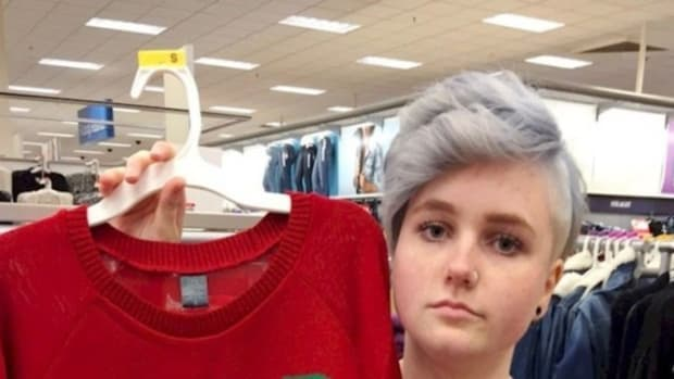 Woman Takes One Look At Target Sweater, Decides It's Offensive - Take A Look And Decide For Yourself (Photo) Promo Image