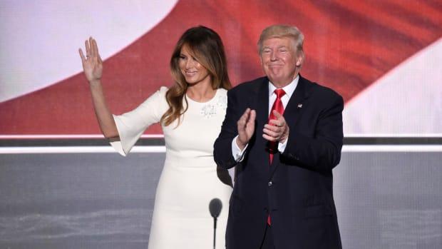 Internet Users: Is Melania Happy With Donald Trump?  (Photos) Promo Image