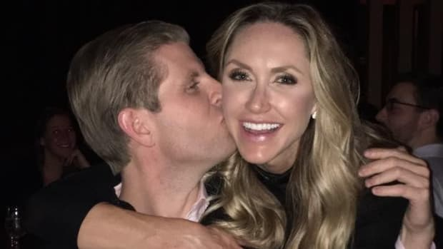 Eric Trump's Wife Is Pregnant Promo Image