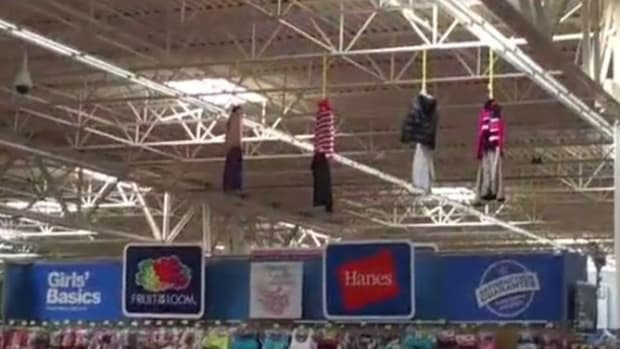 Is This Walmart Halloween Display Racist? You Make The Call (Photos) Promo Image