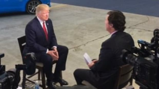 Trump May Have Divulge Classified Info In TV Interview Promo Image
