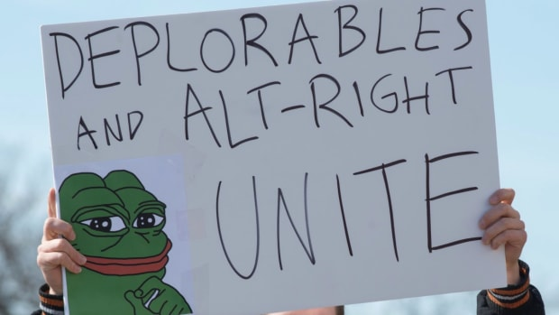Alt-Right Protests Trump-ish 'Julius Caesar' Play (Video) Promo Image