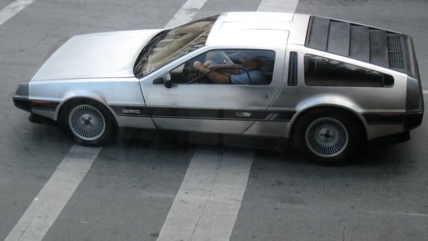 DeLorean Driver Pulled Over Doing 88 MPH Promo Image