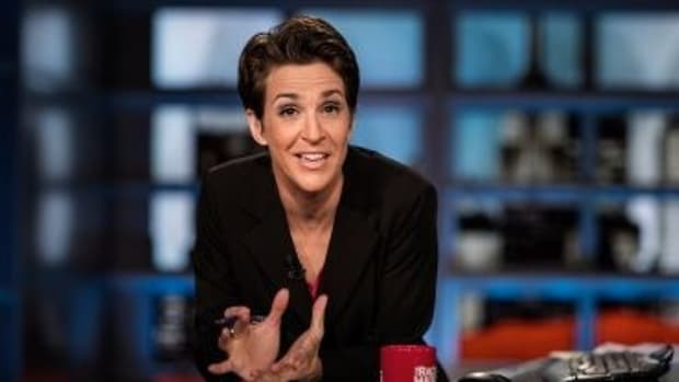 Trumps Attack, Thank Rachel Maddow For Tax Return Piece (Video) Promo Image