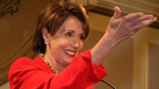 Pelosi Narrowly Wins House Democratic Leader Re-Election Promo Image
