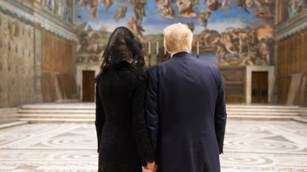 Melania Trump First Catholic FLOTUS In Decades Promo Image