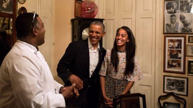 Malia Obama Pictured On Her Way To Work (Photo) Promo Image