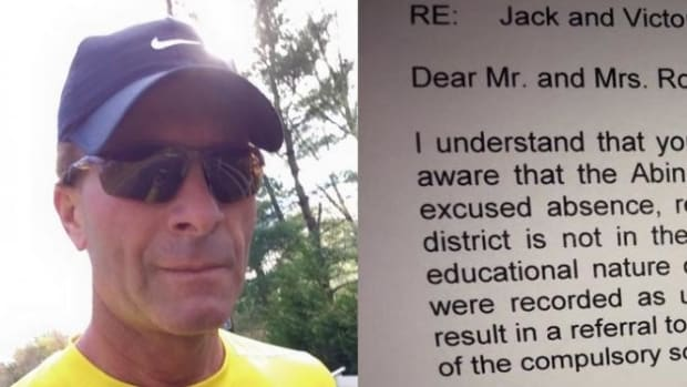 This Dad's Response To His Children's Principal Has Gone Viral For Obvious Reasons (Photos)  Promo Image