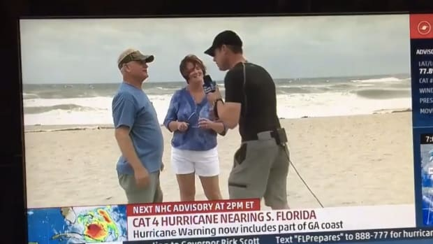 Couple Brags: Not Evacuating For Hurricane Matthew (Video) Promo Image