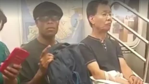 Woman Accuses Man Of Lewd Act On NYC Subway (Video) Promo Image