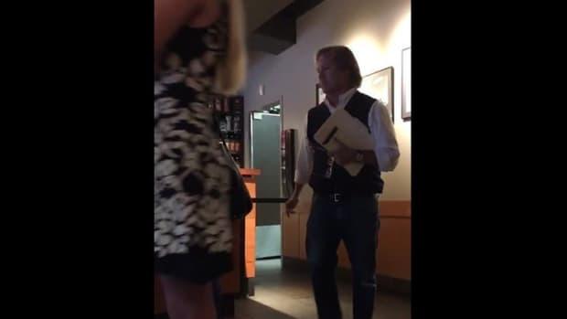Starbucks Customer's Outburst Goes Viral (Video) Promo Image
