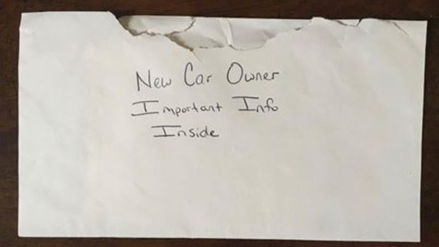 Father Finds Touching Letter Inside Daughter's Car Promo Image