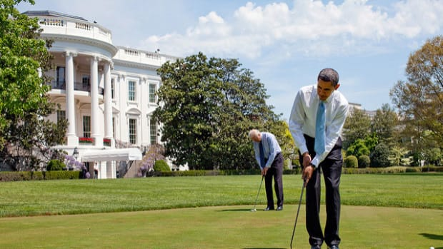 Here's What Obama Was Doing During Attacks Promo Image