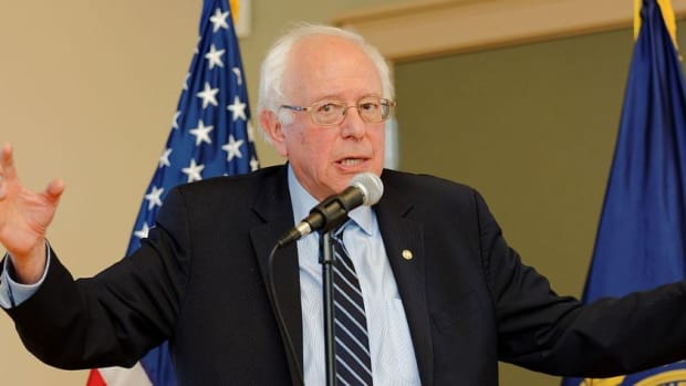 Sanders Responds To Critics Of Clinton Endorsement Promo Image
