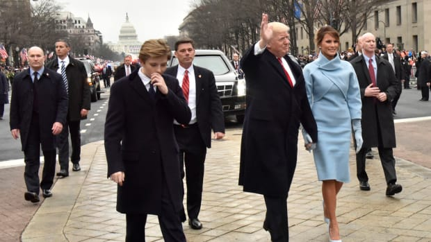 Report: Melania And Barron Moving To D.C. In June Promo Image
