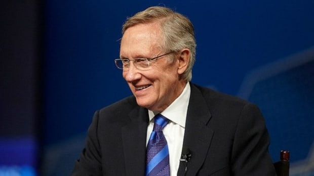 Harry Reid Talks Frustration And Advice In Interview  Promo Image