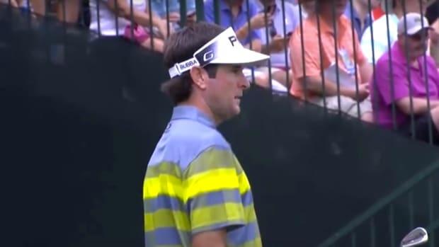 Bubba Watson, Caddy Argue With Heckler (Video) Promo Image