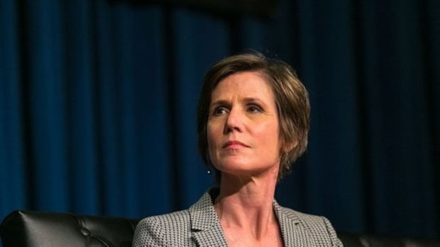 Sally Yates Warned Trump Several Times About Flynn Promo Image