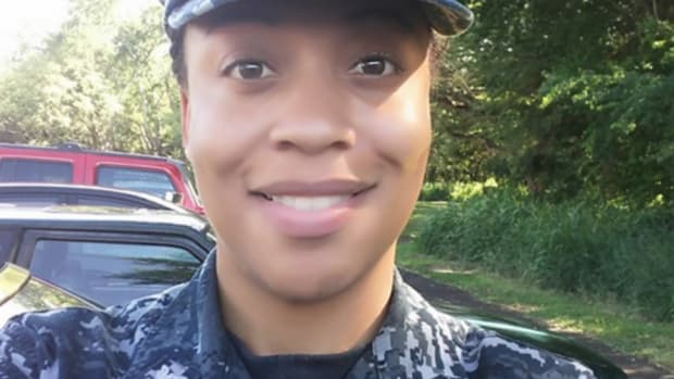 Navy Reservist Could Face Jail For Protesting Anthem Promo Image